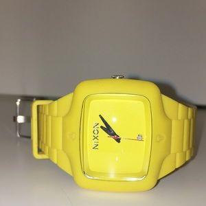 Ultra Rare Yellow Rubber Nixon Player Watch